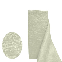 Cheap ivory Crinkle Taffeta Fabric Roll for sale