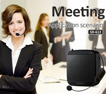 SHIDU Brand Portable PA Speaker with 2.4G Microphone SD-S613