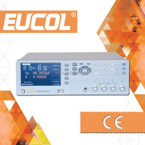 Eucol OEM Manufacturer of U2836 Digital LCR Meter with Test Frequency 50Hz-200kHz