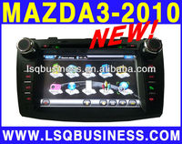 "8"" mazda 3 car gps dvd player with Steel Wheel Remote Control,OSD touch/USB/SD/Slott,with Bluetooth"