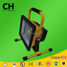 11 w cob y smd mango recargable de carga led exterior de trabajo light led flood light lámpara de mano portable