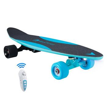 US warehouse free shipping Maxfind Carbon fiber & PP composite mini electric skateboard