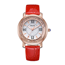 pictures of fashion girls lady watches, leather alloy case unisex custom quartz wrist watch women