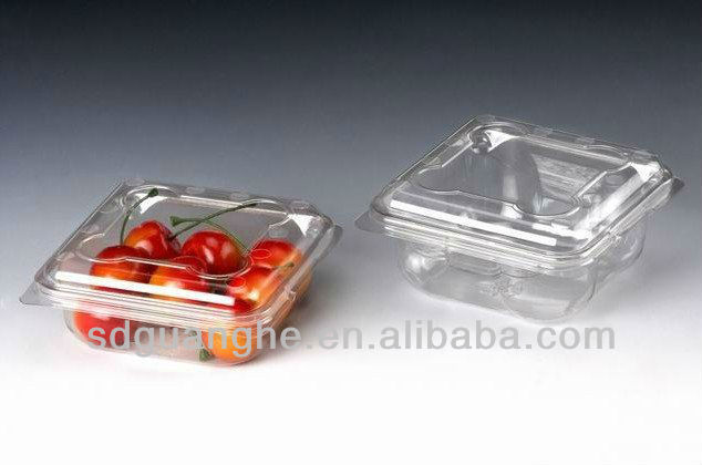 250g PET disposable plastic fruit containers