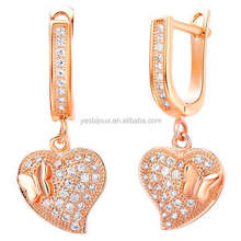 italian earring jewellery bijuteria Rose Gold Jewelry