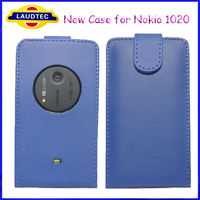 New Mobile Phone Case for Nokia Lumia 1020 Leather Flip Case