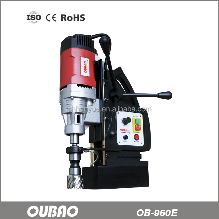 German quality heavy duty electric manual magdrill magnetic drill OB-960E