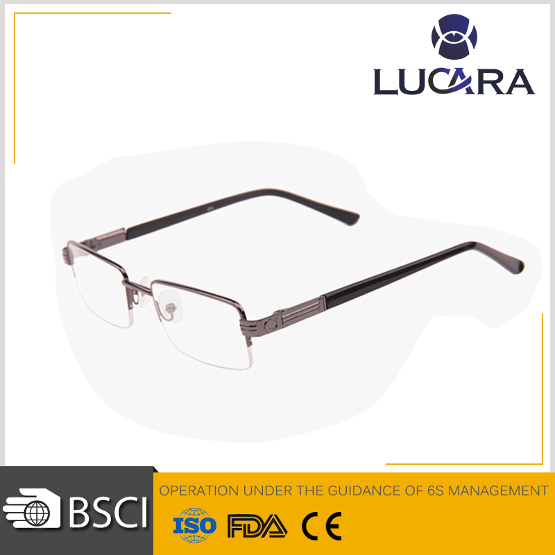 Hot Selling Clear Lenses Color and Metal Frame Material granny reading glasses