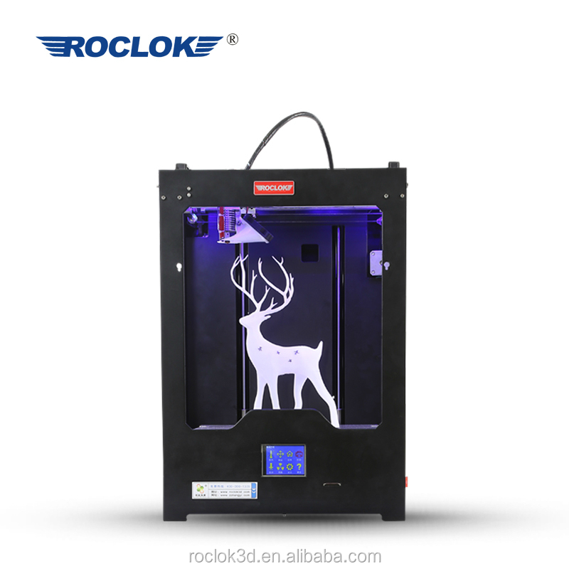 Roclok <strong>U2</strong> 3D Printing Machine for Individual Use with Building Size 250*250*300mm 3D Printer