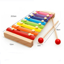The free shipping 2017 hot selling lovely wooden xylophone music <strong>toy</strong> for kids