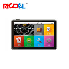 5 inch WinCE 6.0 GPS Navigation 84h-3 for Truck with AVIN