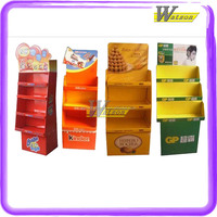Retial Easy Assemble Cardboard Mobile Phone Accessories for Retail Store