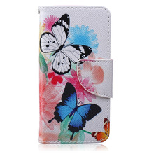 Shenzhen alibaba custom leather flip cell phone cover case for iphone 5s