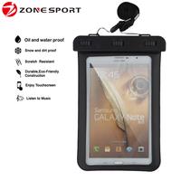 Hot sale Waterproof Bag for tablet samsung galaxy cover,PVC waterproof case for ipad mini