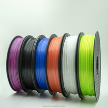 Full Color 1.75/2.85/3MM Plastic S-PLA ABS PP 3D Printing Filament With RoHS Certificate