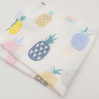 100% Natural Organic Cotton Gauze Fabric For Baby Muslin Blanket