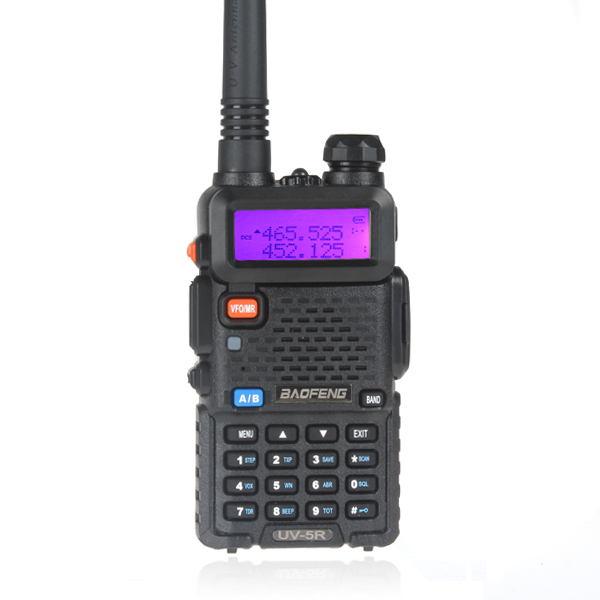 UV-5R baofeng walkie talkie ham radio high frequency radio receiver