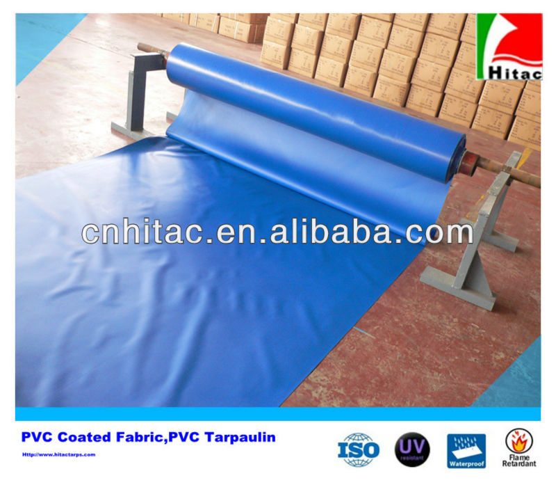 1000D*1000D Waterproof PVC 650g Tarpaulin In Roll