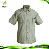100%Cotton Casual Men Half Sleeve Shirts