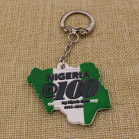 Promotion Soft Rubber Custom Pvc Keychain