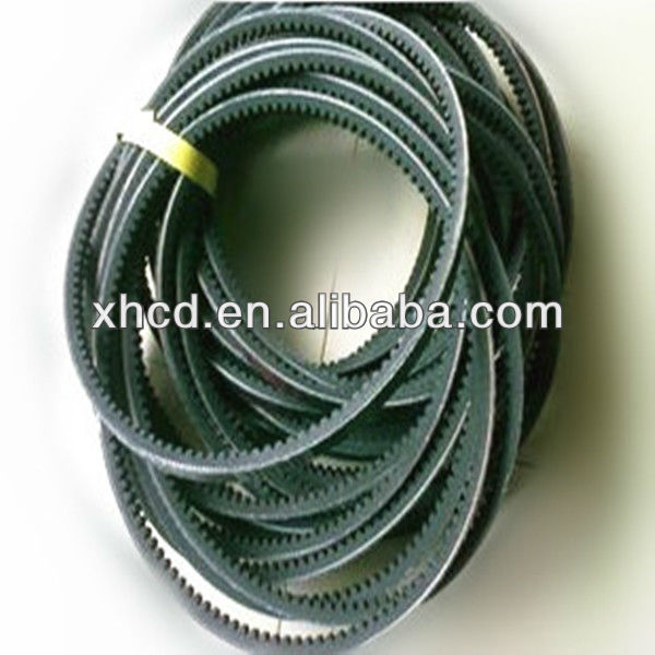 Rubber v belt/Cogged Belt manufactured in China