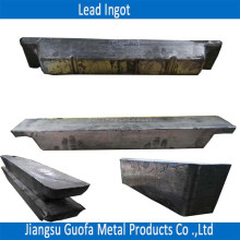 Supply PbSb0.5 PbSb2.0 Antimony Lead Ingot Used For Cable Sheathing