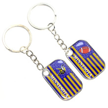 new custom promotion cheap all 32 American football teams NFL Minnesota Vikings keychain