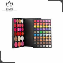 Factory 82 colors lipgloss 60 shimmer matte warm eyeshdow 3 blusher 3 foundation 16 lipgloss custom makeup palette