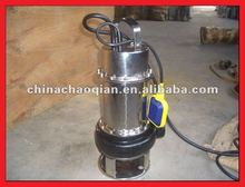 Stainless steel submersible septic pump WQG5-10-1.1KW / 2.2KW