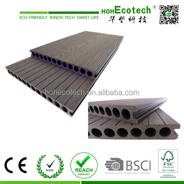 Easy Installing Wpc Decking Board Flooring Price