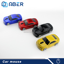 2017 New Trending Promotional Gift Car Shape Optical Wireless Computer Mouse for Laptop PC Notebook