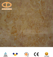 60x60 polished beige yellow marble floor tiles