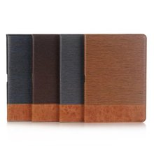 Luxury cross pattern PU leather wallet case for iPad Pro 10.5