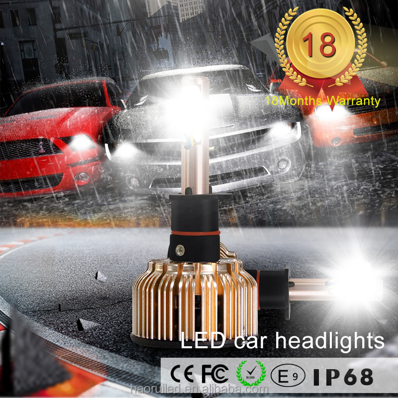 High Quality 24V For Car/Truck All in one Head Lamp H7 4800 Lumens Led Automotive Led Headlight H4 Bulb