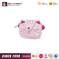 HEC Hot Sale Pink Color Canvas Material Mini Ainmal Shaped Girl Clutch Bag