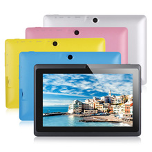 Paypal accepted 7 inch Q88 tablets quad core cheap tablet pc made in China