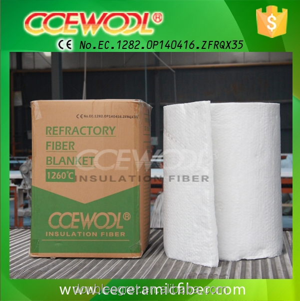 CCEWOOL fire resistance insulation material ceramic fiber blanket for kiln
