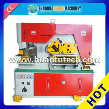 NEW DESIGN Q35Y SERIES Hydraulic Iron worker Ironworker