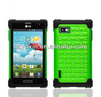 New case for LG F3 LS720 super combo case,smart cover case for lg