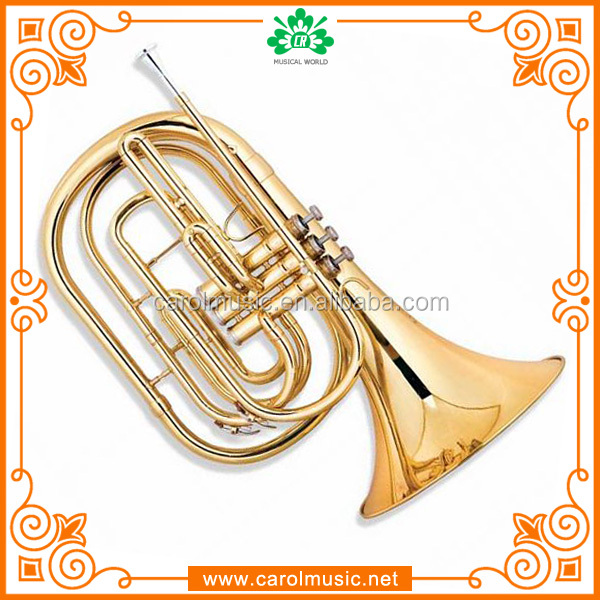Professional OEM color marching french horn