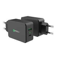 travel QC3.0 Adapter passed ETL certified,QC 3.0 Adapter tablet mini usb QC 3.0,Type-c QC3.0 multiple plug