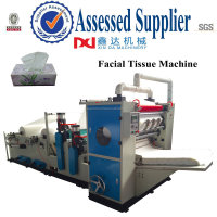 Full auto V folding facial tissue machine,embossing tissue facial machine
