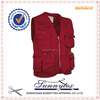 China supplier cheap Wholesale Mens Fishing Vest multi pocket hunting vest