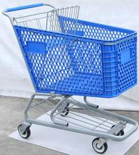 PP Plastic supermarket shopping trolley with high quality