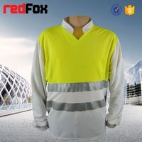 reflective safety sound activated led t shirt wholesale