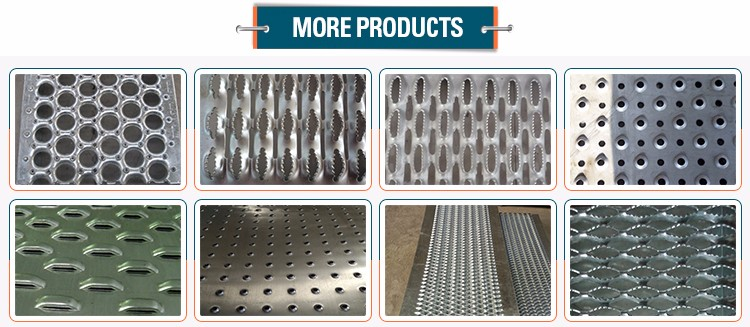 Plain Hot Dip Galvanized Floor Heavy Duty Steel Grating