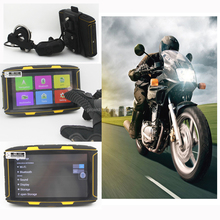 NEW Gps-motorcycle waterproof navigator