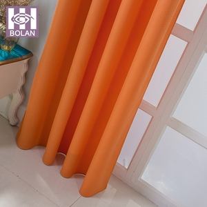 Custom design high quality product 100% polyester fabric bali curtain