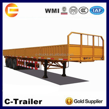 High Quality 3Axles 40Tons Side Wall Cargo Semi-trailer for Sale