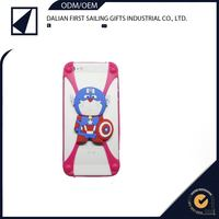 universal cartoon frame 3d silicone case bumper for mobile phone